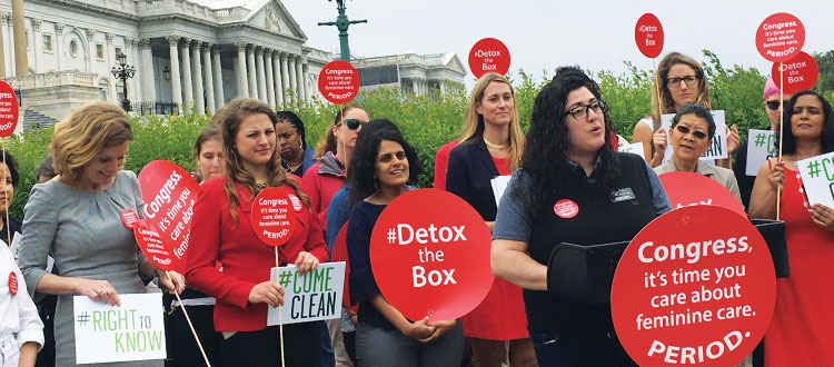 COLOR speaks at women's health rally in Washington, DC
